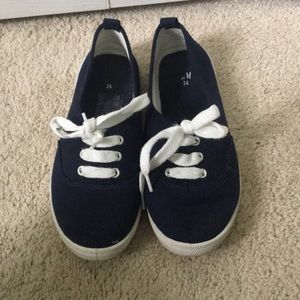 Women's h&m navy fashion sneakers